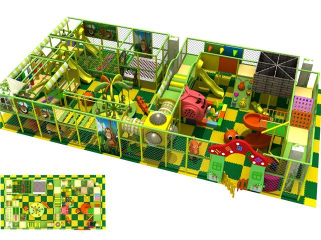 淘气堡儿童乐园系列 - 豪华淘气堡设计图 - bh 3016堡